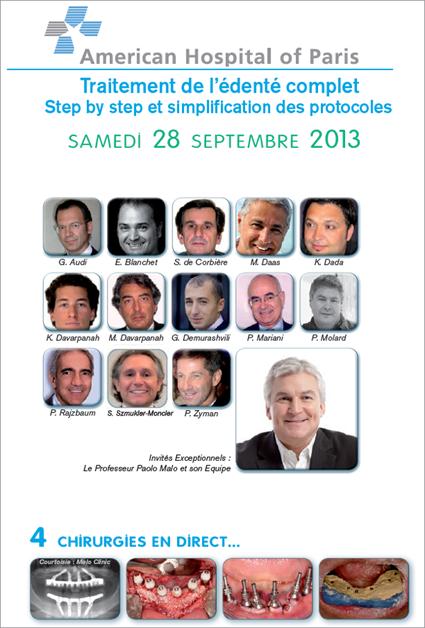 chirurgie en direct, American Hospital of Paris