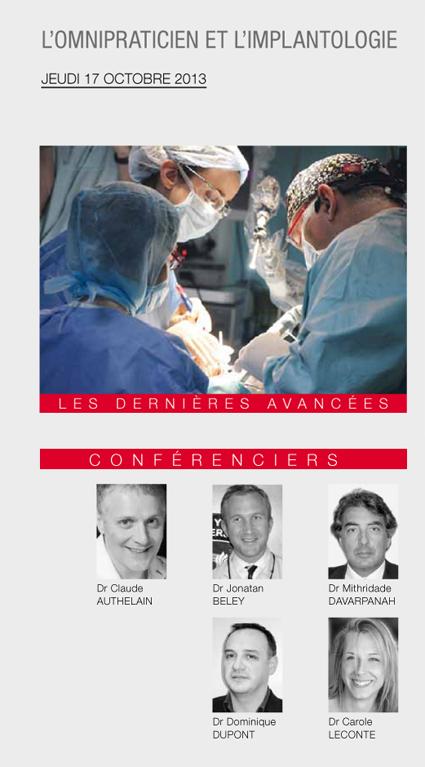 omnipraticien et implantologie