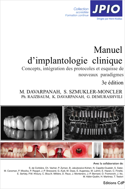 manuel d'implantologie clinique